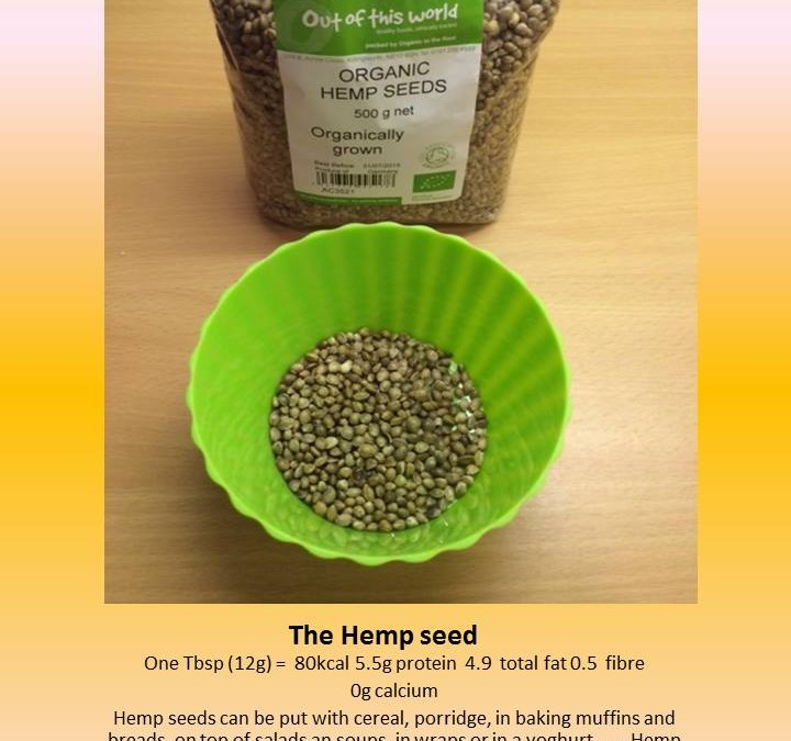 The almighty Hemp seeds