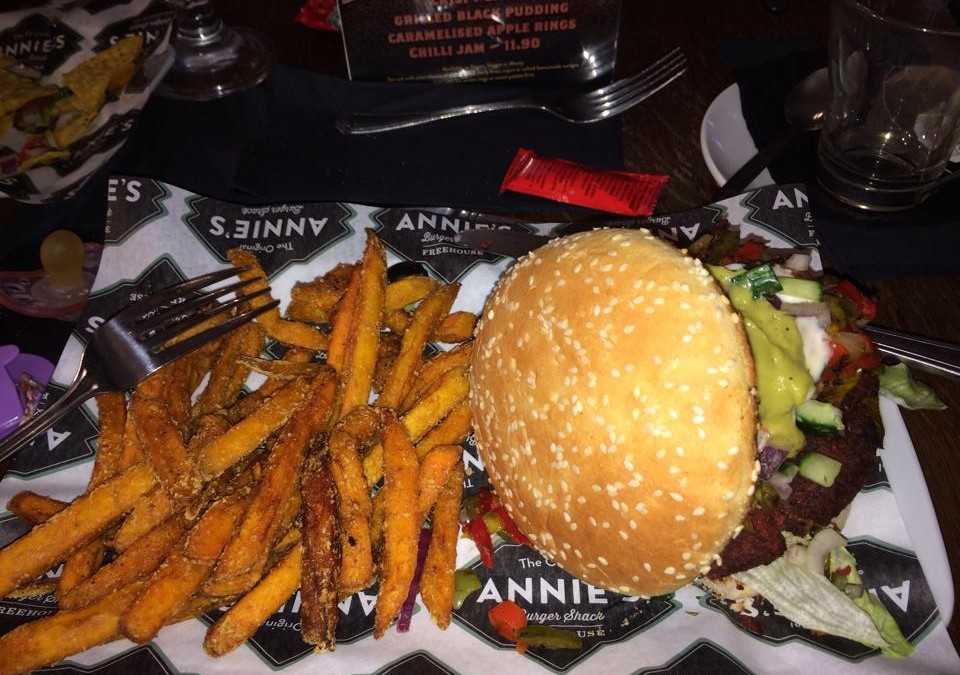 Out and about; Annie's Burger Shack