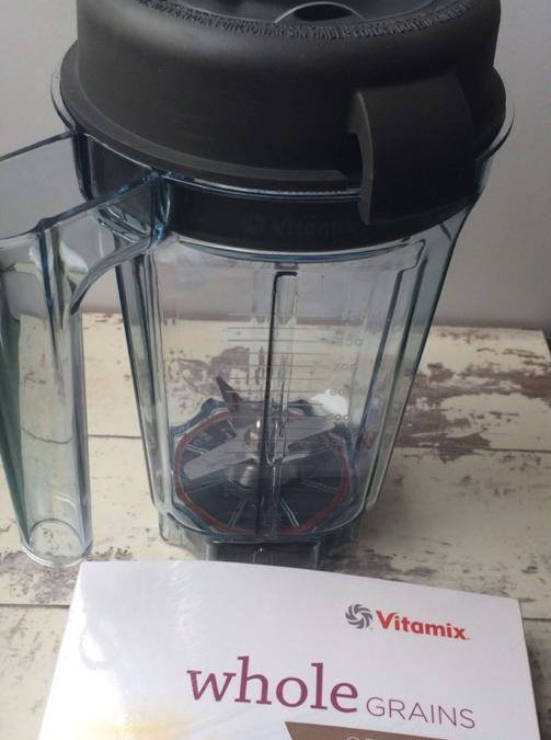 The versatile Vitamix blender and dry blade container